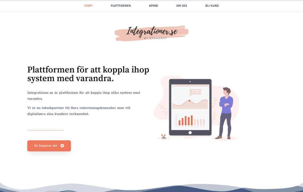 Standout lanserar integrationer.se 1